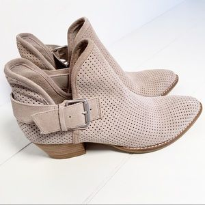 Dolce Vita Simon Suede Perforated Bootie